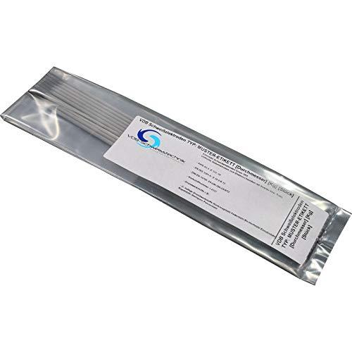 Schweisselektroden Gusseisen NiFe 60-40 - 10 Stück Von 2.5 bis 3.2 mm [ 2.5 x 350 mm - 10 Stück ]