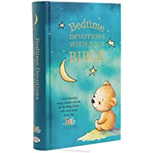 ICB, Bedtime Devotions with Jesus Bible, Hardcover: International Children\'s Bible
