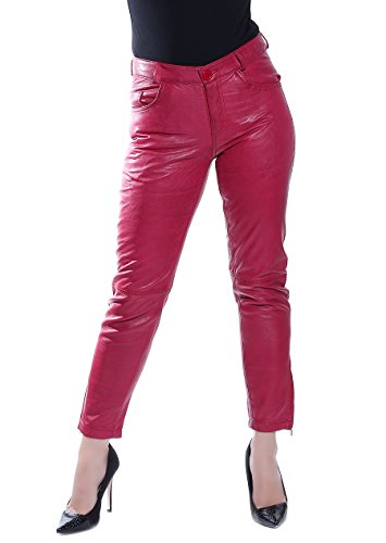 Alba Moda -  Pantaloni  - Pantalone capri - Donna Rot 40