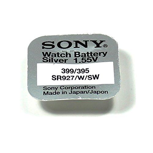 d'origine Sony oxyde d'argent Piles Bouton pour Montres, etc. 395 (SR927SW) Watch Battery Silver 1.55 V – Livraison Gratuite sur. -