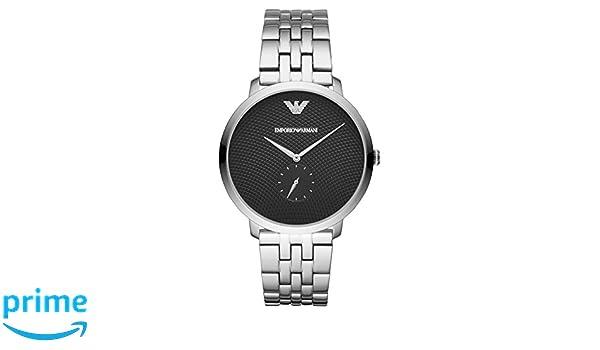 Armani Herren Emporio Uhr Ar11161 Quarz Edelstahl Analog Armband Mit byf7Y6g