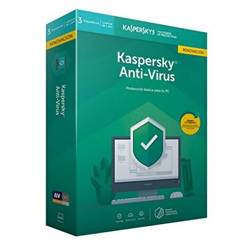 Kaspersky Software antivirus 2019Antivirus 3licenze RENOVACION