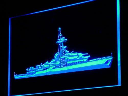 ADV PRO m010-b Navy Marine Ship Military WWII Neon Light Sign Barlicht Neonlicht Lichtwerbung (Wwii Marine-schiffe)