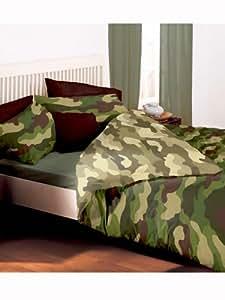 parure housse de couette camouflage armee militaire linge. Black Bedroom Furniture Sets. Home Design Ideas
