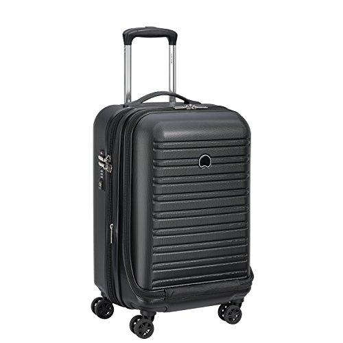 DELSEY Paris Segur Hand Luggage, 55 cm, 48 liters, Black (Noir)