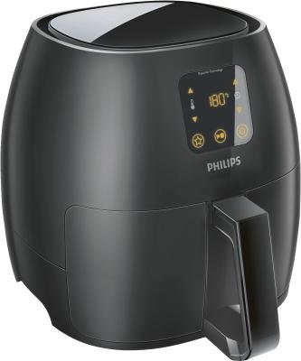 Philips HD9248/90 Avance Collection Airfryer XL Fritteuse schwarz inkl. extra großer Grillpfanne