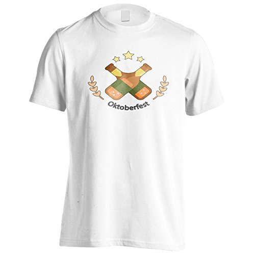 Birra Oktoberfest Party 2017 Uomo T-shirt o350m White