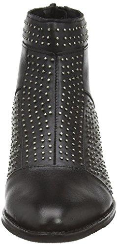 Friis & Company  Liva Studded, Bottes Classics courtes, doublure chaude femmes Noir - Noir