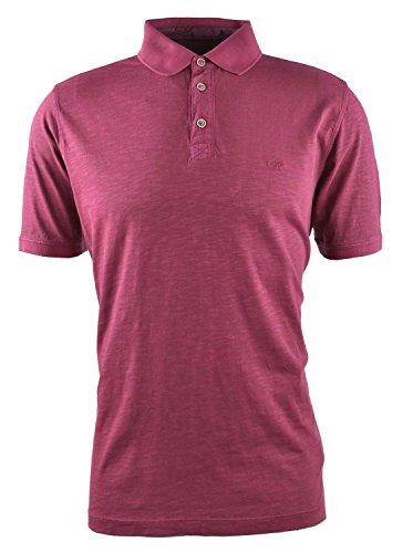 Fynch-Hatton Herren SLUB-Jersey-Polo-shirt Beere Beere