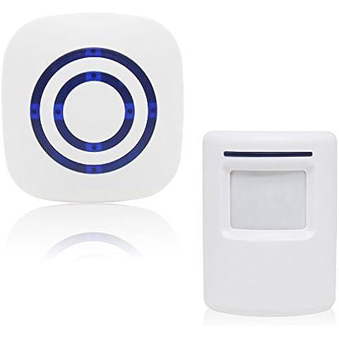 Xcellent Global Allarme campanello wireless con sensore infrarossi per vialetto