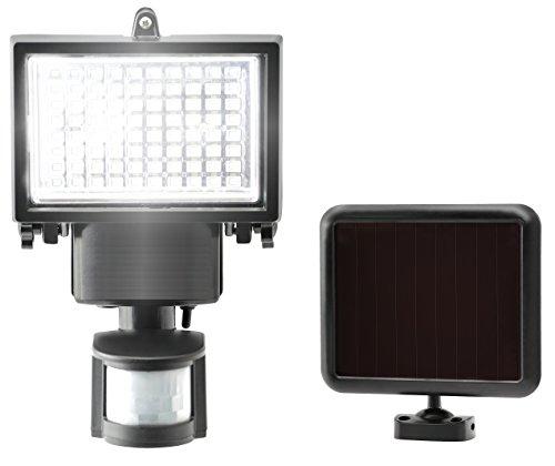 120 LED Solarlampen für außen mit bewegungsmelder - Wasserfest Solarleuchten für Außen, Garten, Schuppen, Garage und Fußweg von SPV Lights (2 Jahre kostenlose Gewährleistung inklusive)