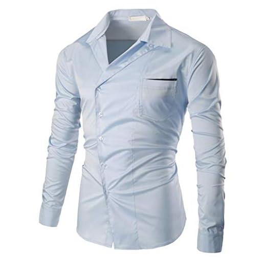 Uomini-di-Casual-Maniche-Lunghe-di-Camicie-Camicie-ASHOP-Business-Tuta-Tempo-Libero-a-Maniche-Lunghe-Camicia-Coreana-Uomo