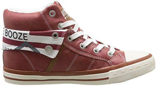 Mustang 1146-501-5, Sneaker alta donna Rosso (Rot (5 rot))
