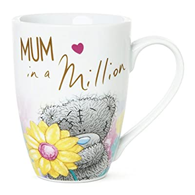 "Me To You Tatty Teddy ""Mum In A Million"" Boxed Mug, White"