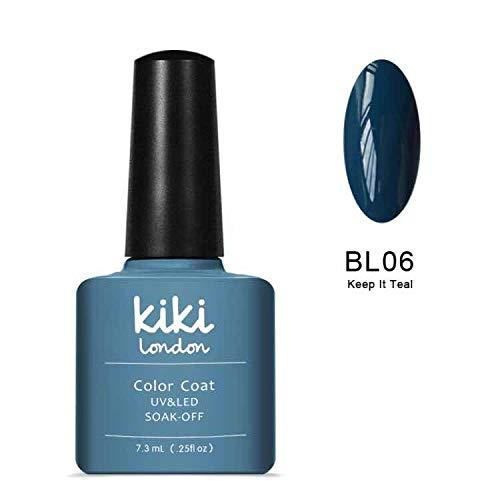 Keep It Bleu sarcelle - Bleu sarcelle à ongles gel (Automne Hiver) Vernis à ongles gel UV/LED Couleurs par Kiki Londres. G4GADGET Nail Gel PX