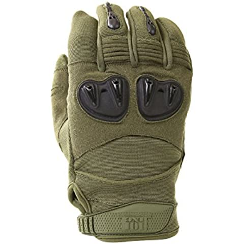 Uso Guantes Special Forces Bundeswehr KSK isaf extranjero protectores Caza Outdoor Survival Guantes Táctico Combat – Verde Oliva #