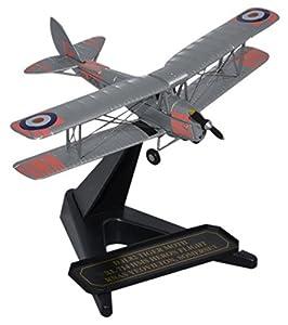 Herpa 8172tm008-Avión, Royal Navy DH Tiger Moth XL 714HMS Heron Flight, Gris