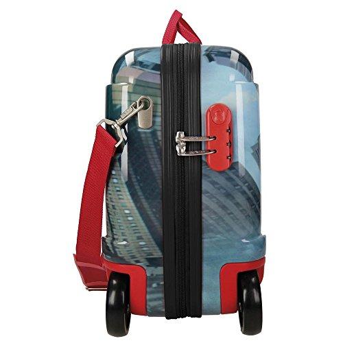 Spiderman City Valigia per bambini, 50 cm, 34 liters,...