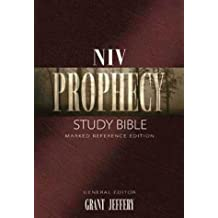 NIV Prophecy Marked Reference Study Bible - Hardcover (1999-03-01)