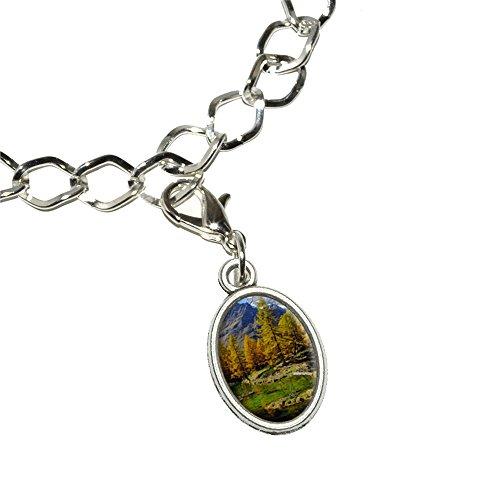 lago-bleu-matterhorn-pennine-alps-landscape-silver-plated-bracelet-with-antiqued-oval-charm