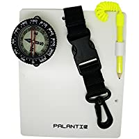Palantic Scuba Dive Writing Slate with Compass and Pencil, 2""