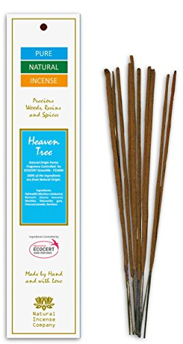 Heaven Tree - Ecocert - Pure Natural Incense -10sticks