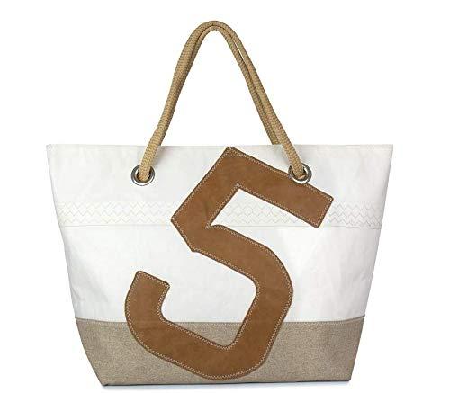 727Sailbags-CARLA-Leinen-Leder-Strandtasche-Handtasche-Shopper-fr-Damen-aus-recyceltem-Dacron-Segel-Leinenboden-Zahl-5-Leder