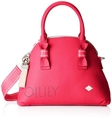 Oilily Damen Airy Handbag Mhz Henkeltasche, Pink (Pink), 13.0x24.0x32.5 cm