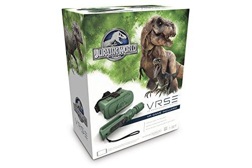 Goliath 90502 - VR Goggles Jurassic Park, Erlebe so realistisch wie noch nie das virtuelle Dinosaurier Abenteuer, kompatibel mit Smartphones bis 6,2 Zoll inkl. Motion Joystick