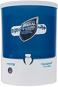 Eureka Forbes Aquaguard Reviva RO + UV + MTDS Water Purifier, White & Blue