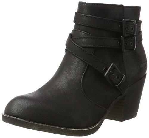 Rocket Dog Women's Seon Biker Boots, Black (Black), 5 UK 38 EU