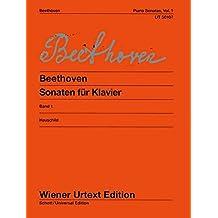 Sonaten 1 (Opus 2-22) Piano (Wiener Urtext)