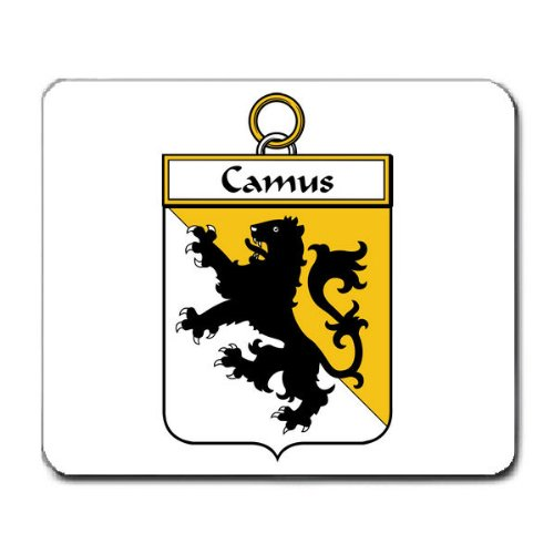 camus-family-crest-coat-of-arms-mouse-pad