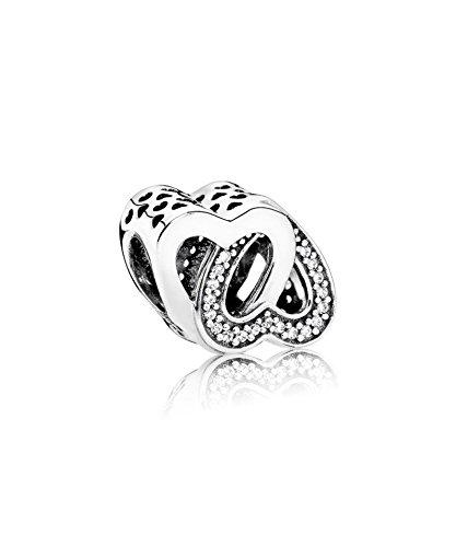 PANDORA - Intreccio di amore fascino 925/1000 argento PANDORA 791880CZ