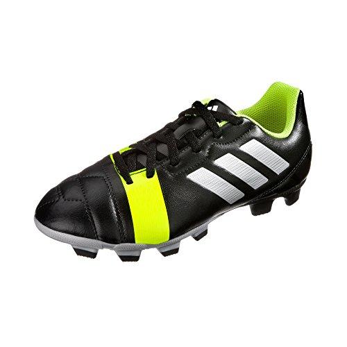 adidas Kinder Fußballschuh nitrocharge 3.0 TRX FG J black1/metsi