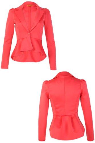 My1stWish - Veste de tailleur -  Femme Coral Pink