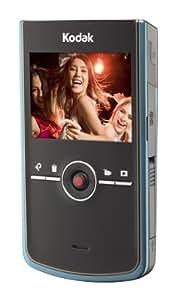 """Kodak Zi8 Caméscope de poche CMOS 5 Mpix Zoom numérique 4x Ecran LCD 2,5"""" 128 Mo Aqua"""