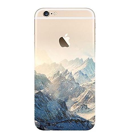 Incendemme Handyhülle Landschaft Schutzfolie Berg TPU Schalen für iPhone (für iPhone 6/ 6s, 5) (05 Berg)