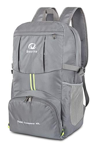 17c874256b5b Foldable traveling backpack le meilleur prix dans Amazon SaveMoney.es
