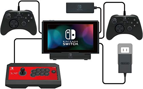 HORI - PlayStand Multipuerto USB (Nintendo Switch / Switch Lite)