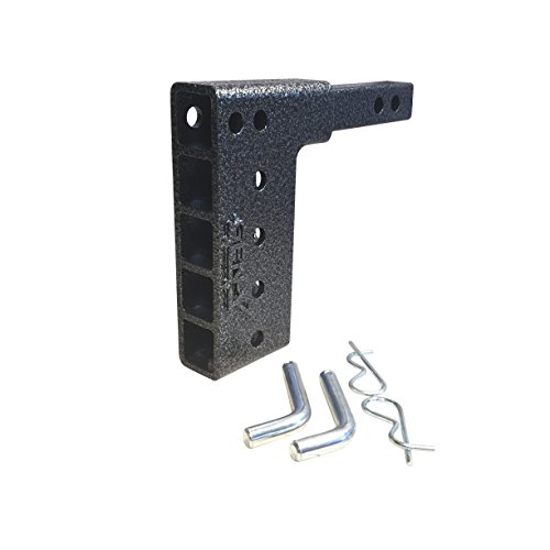 Dual Receiver Drop Hitch, 1-1/4