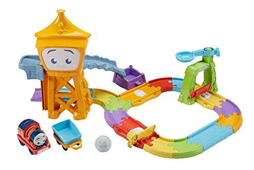 Thomas & Friends FKC84 Railway Pals Mountain Adventure Set, Thomas the Tank Engine Toy Train Set, My First Toy Train Set for Toddlers