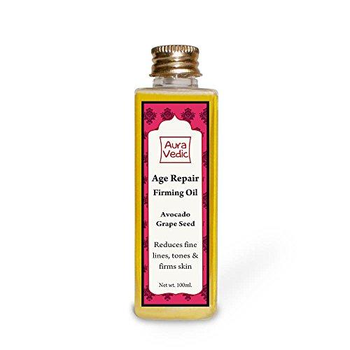 Auravedic Firming Age Repair Oil- Avocado & Grapeseed Reduces Fine lines,tones & firms skin.(100ml)