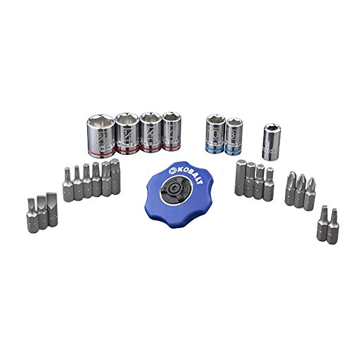 Kobalt 26 Pc Palm Ratchet Set - 0338532 by Kobalt