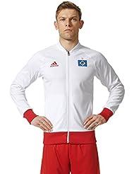 adidas Herren Hamburger Sv Anthem Jacket Jacke, Weiß
