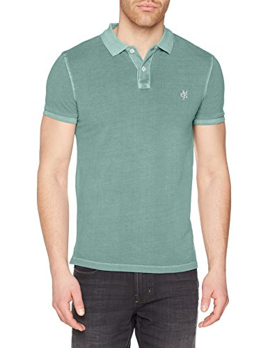 Marc O'Polo 804226151057, Camiseta para Mujer, Azul (Night Sky 880), 40 (Talla del Fabricante: M)