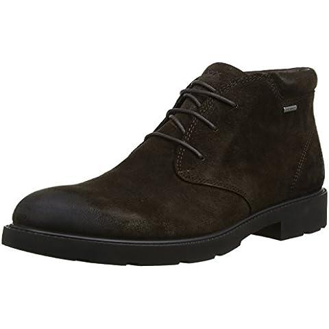 Geox U Rubbiano B Abx - Zapatos de cordones para hombre
