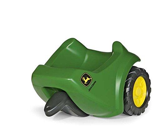 Rolly Toys 122028 rollyMinitrac Trailer John Deere | Anhänger für Rutscher Traktor rollyMiniTrac| ab 1,5 Jahren | Farbe grün | TÜV/GS geprüft