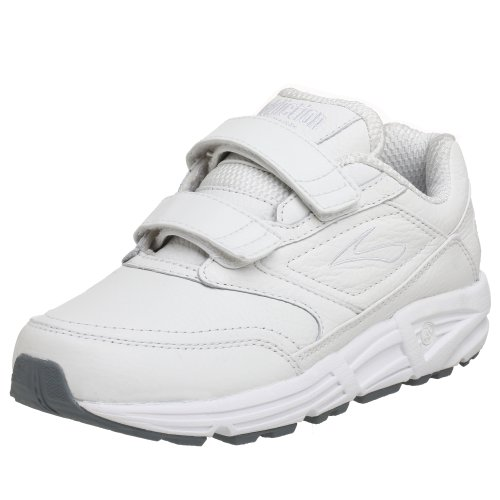 Brooks  Addiction Walker V-Strap W, Chaussures de randonnée femme Blanc (Weiß)