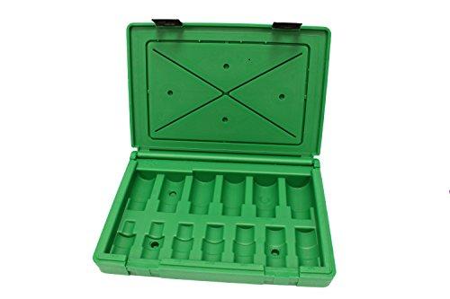 SK HANDWERKZEUG abox-34300blow-molded Ersatz Schutzhülle Swivel Hängelampe für Artikelnummer 343001/5,1cm Antrieb IMPACT SOCKET SET, grün (Sk-tools Set 3 8 Antrieb)